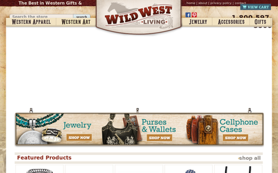 Wildwestliving.com website