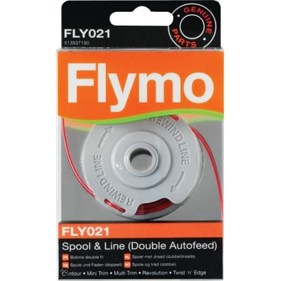 Flymo FLY021 Dubbele draadspoel