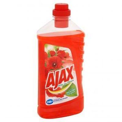 Ajax Allesreiniger - Fete De Fleur Rode Bloem - 1000 ml