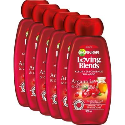 Garnier Loving Blends Cranberry Shampoo Voordeelverpakking Voor