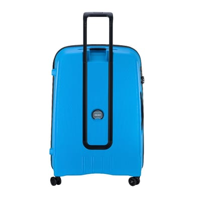 Delsey Belmont Plus 4 Wheels Trolley 76 metallic blue
