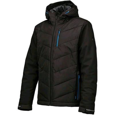 Falcon Salvino softshell jacket Heren Kleding Zwart S