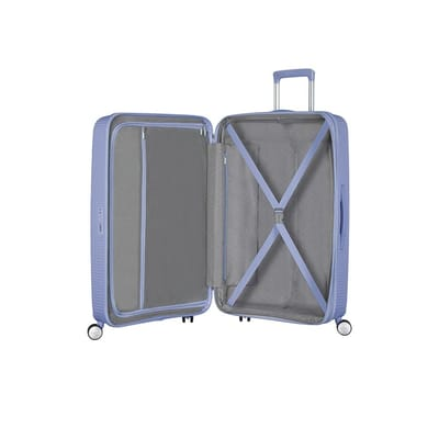 American Tourister Soundbox Spinner Exp Denim Blue 77