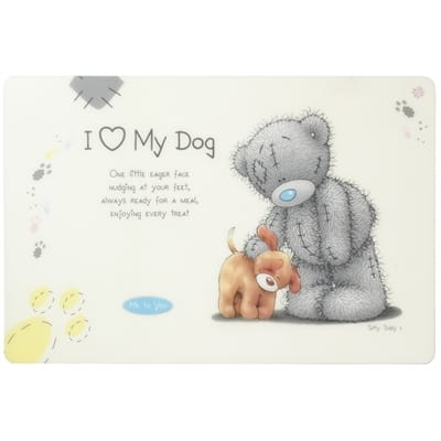 Me to you placemat voor hond