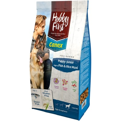 canex fish rice maxi Hobby First Puppy Junior