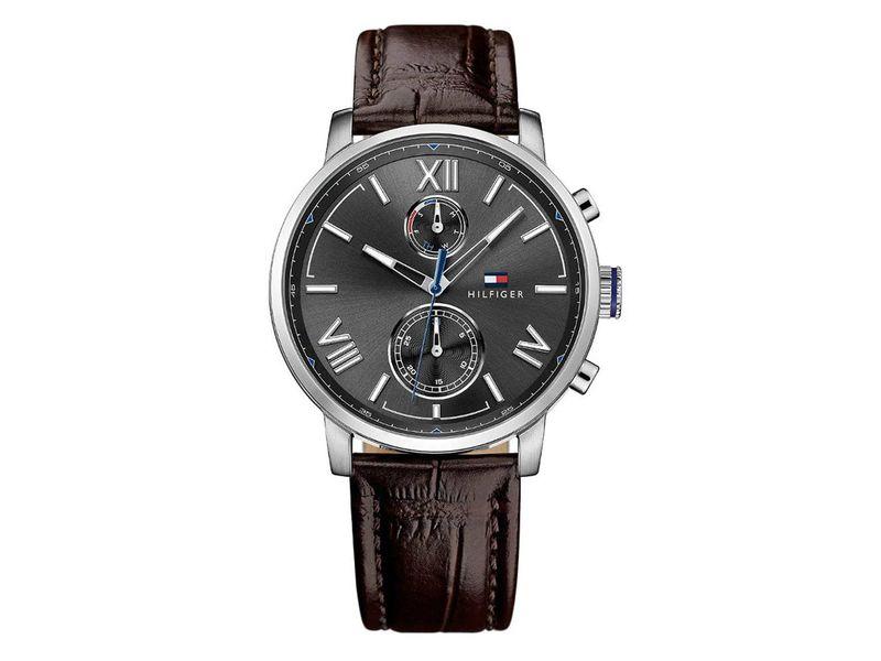 Tommy Hilfiger TH1791309 horloge heren bruin