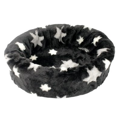 Petcomfort hondenmand bont ster zwart