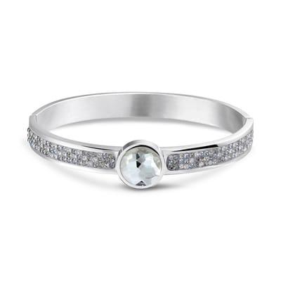 Mi Moneda Picante Armband Steelgrey Swarovski Crystals
