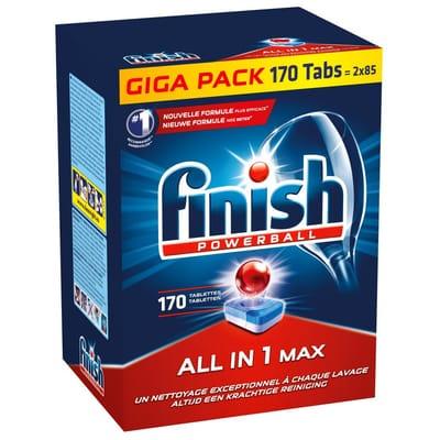 Finish All in 1 Regular Vaatwastabletten 170