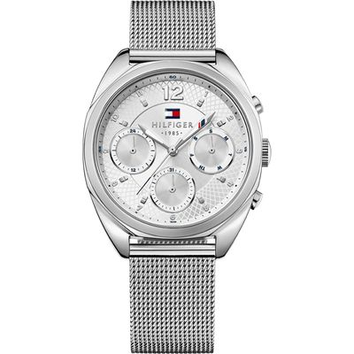 Tommy Hilfiger Horloge Mia zilverkleurig 38 mm TH1781628