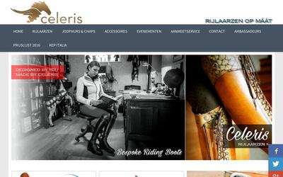 Celeris rijlaarzen website
