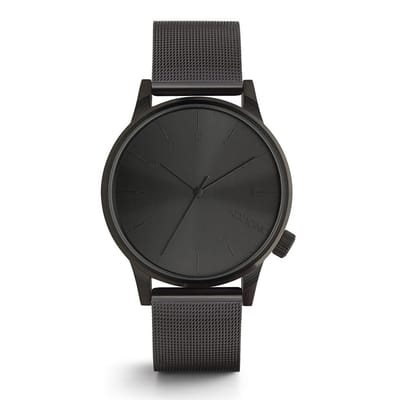 Komono Winston Royale Black Horloge Zwart 3