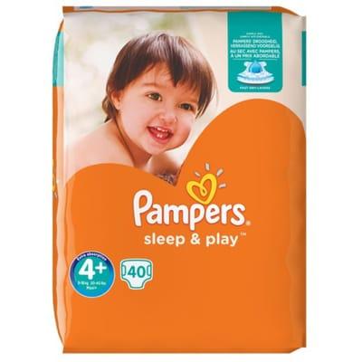 pampers Sleep Play maat 40 luiers