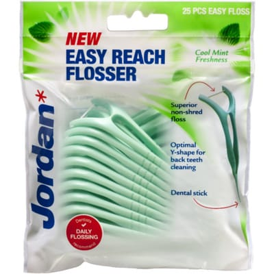 Flosser easy reach