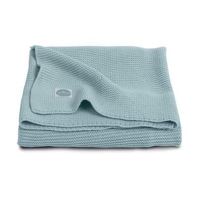 Jollein Basic knit stone green Deken 100X150 cm
