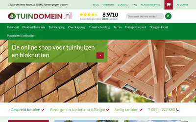 Tuindomein website