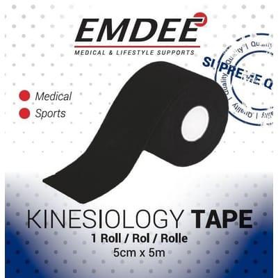 EMDEE kinesio tape zwart Non