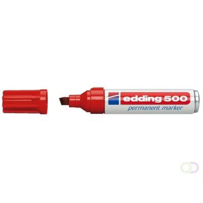 Edding 500 Permanent Marker Rood