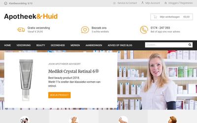 Apotheek en huid website