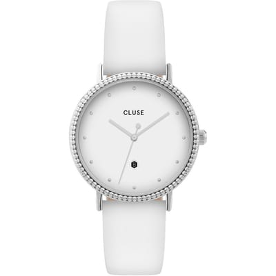 CLUSE CL63003 Horloge Le Couronnement Silver White