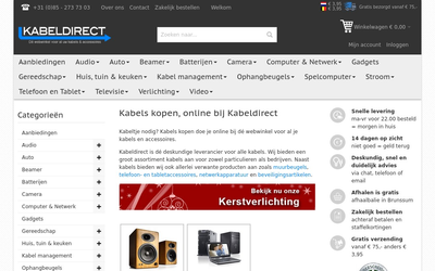 Kabeldirect website