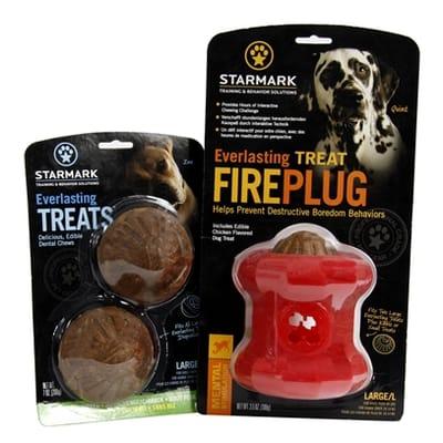 Starmark everlasting fire plug voerbal met treat veggie