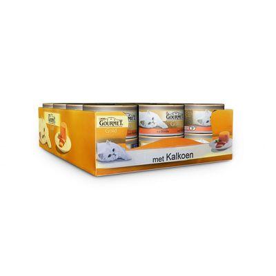Gourmet Gold Mousse Kalkoen 85 gr