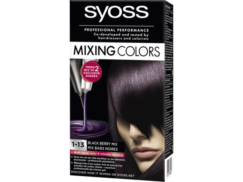 SYOSS Mixing Colors Black Mix 1