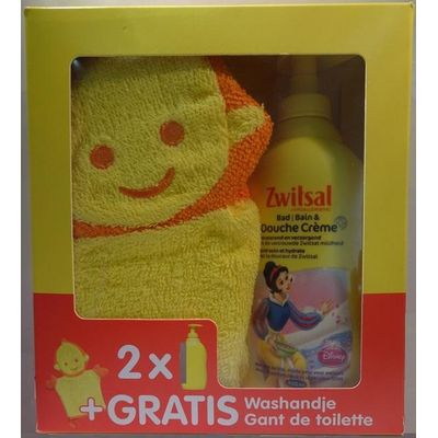 Zwitsal Geschenkset 2x Girl Bad Douchecrème 400ml Gratis Washandje