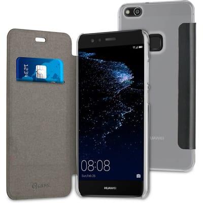 Muvit Folio case zwart Huawei P10 Lite
