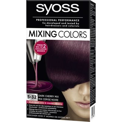 Syoss Mixing Colors 5-32 Dark Cherry Mix