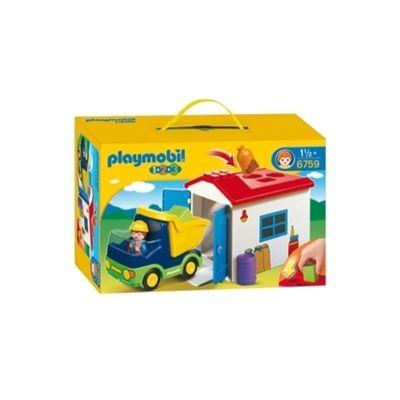 123 Vrachtwagen Met Garage Playmobil 6759