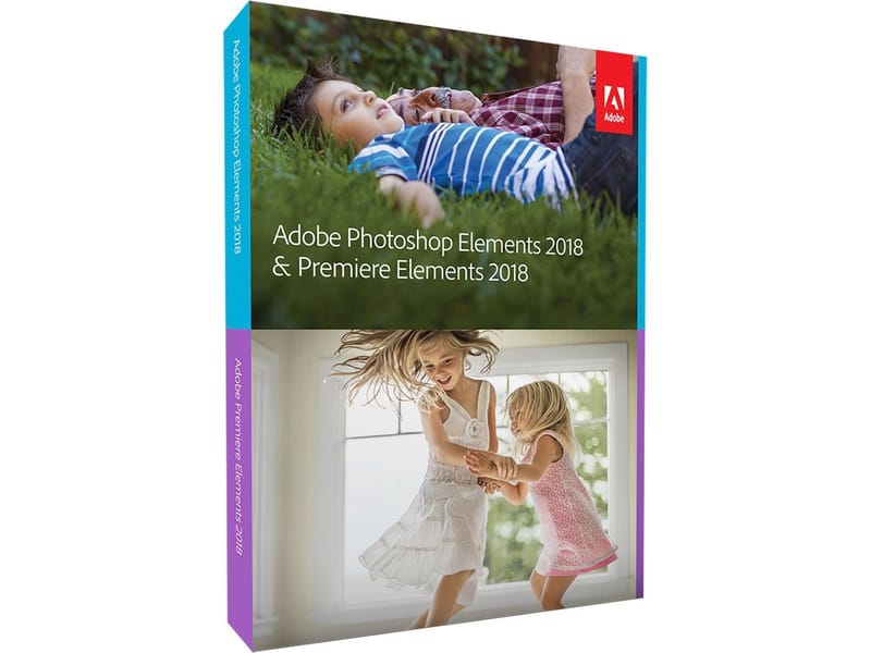 Adobe Photoshop Elements Premiere 2018
