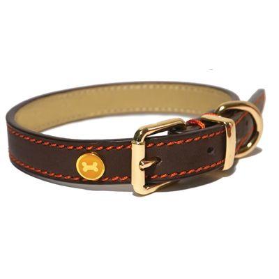 Rosewood Luxury Halsband Hond Bruin x cm 56