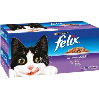 FELIX Mix Selectie In Gelei 44 x 100 g