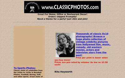 Classicphotos.com website