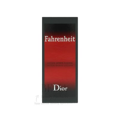 Dior Fahrenheit After Shave 50 ml