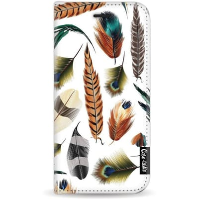 Casetastic Wallet Case Apple iPhone 7 Feathers Multi