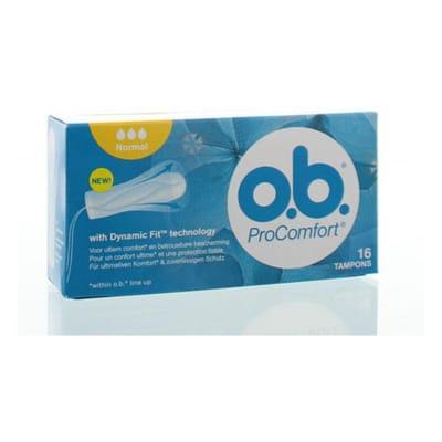 Ob Tampons Pro Comfort 16