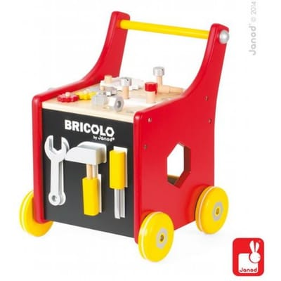 Janod Redmaster Bricolo Trolley