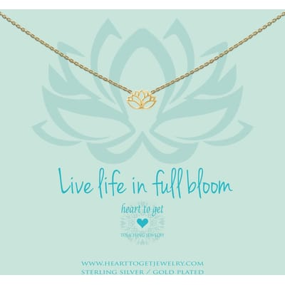 Heart to Get N258LOT15G live life in full bloom