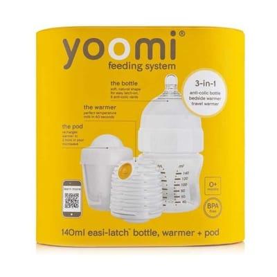 Starterset met flesverwarmer Yoomi