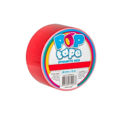 Pop Tape Dynamite Red - 48 mm x 10 m