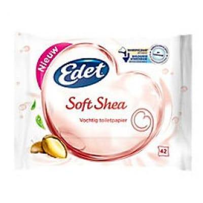 Edet Vochtig Toiletpapier Soft Shea