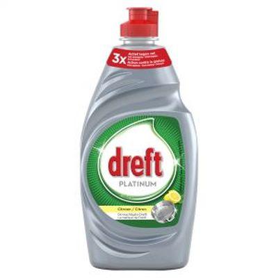 Dreft Platinum Citroen - 400 ml - Afwasmiddel