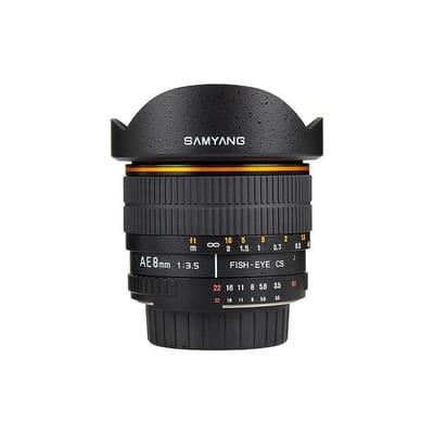 Samyang 8mm CSII Nikon MC