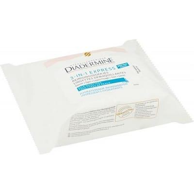 Diadermine express doekjes 3 in 1