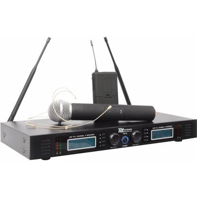 PD732C 2x 16-Kanaals UHF Draadloos Microfoonsysteem