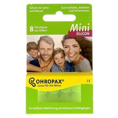 Ohropax Oordopjes Silicon Mini