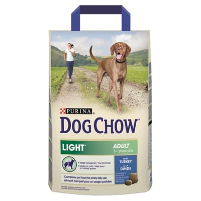 Dog chow light st KG